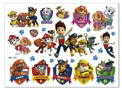 KIDS Temporary Tattoo PATROL Great for Party Bags