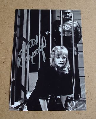 SLIGHT CREASED Katy Manning Signed 6x4 Photo Autograph Genuine Doctor Who + COA