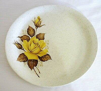 RETRO WOOD and SONS OVAL SERVING PLATE - APRIL ROSE - ENGLAND