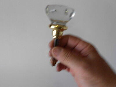 Glass Door Knob, Floor Shifting Knob, Flat Top