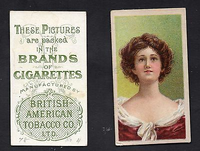B.A.T. - Beauties (Stippled Background) - Fig 78 No.8 Tobacco War Book
