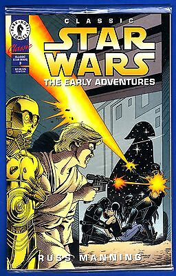 CLASSIC STAR WARS:THE EARLY ADVENTURES #3 * Russ Manning * polybagged w/card