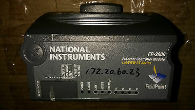 National Instruments NI FP-2000 Ethernet Fieldpoint Network Controller Interface