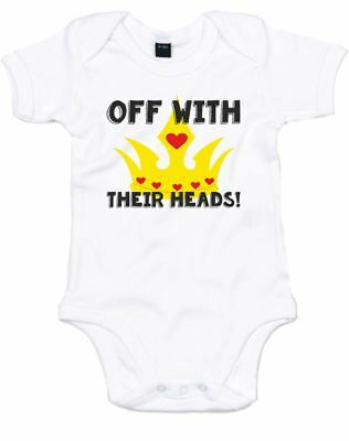 Off With Their Heads, Printed Baby Grow