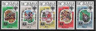 p189 NICARAGUA/ Olympia 1980 MiNr 2080/84 a **