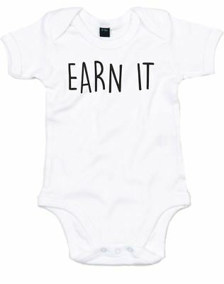 Earn It, Printed Baby Grow