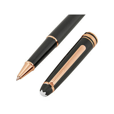 New & Authentic 112678 Montblanc Meisterstuck Red Gold Classique Rollerball Pen