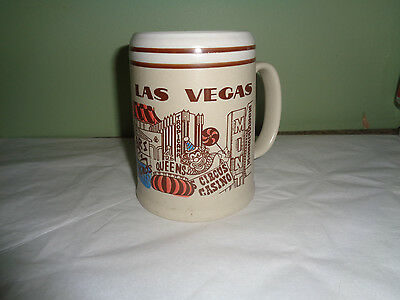 Las Vegas - Casino - Attractions - Collectible - Beer Stein - Souvenir