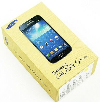 NEW Samsung Galaxy S4 mini 8GB Unlocked LTE 4G Smartphone - Black Edition
