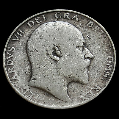 1904 Edward VII Silver Half Crown – Rare