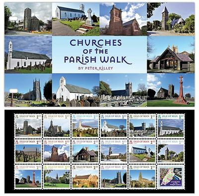 Churches of the Parish Walk Presentation Pack (UJ41)