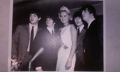 Beatles Photograph 1964 Indiana State Fair With Queen Private Owner