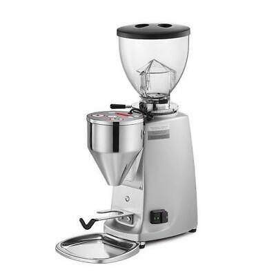 Mazzer Mini Electornic Mod A Commercial Coffee Grinder Black / Silver / Chrome