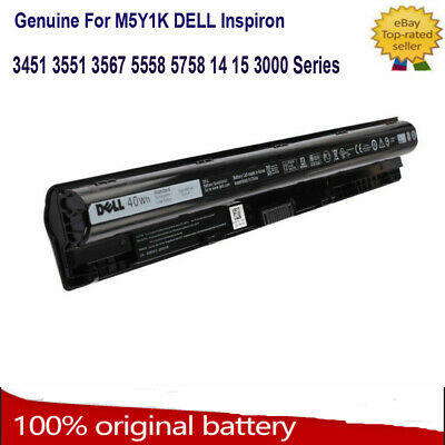 Genuine Original M5Y1K 4 Cells Battery DELL 3451 3458 5551 5555 5558 14.8V 40WH