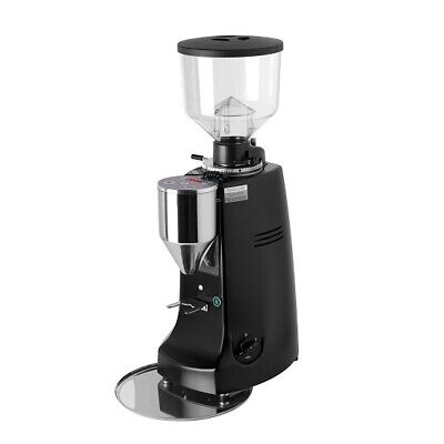 Brand New Mazzer Robur Electronic Commercial Coffee Grinder Silver / Black