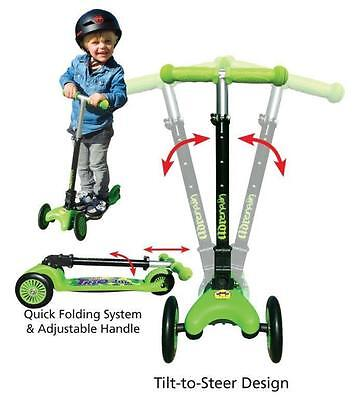 Trio Junior 3 Wheel Scooter Kids Fitness From Adrenalin Sports