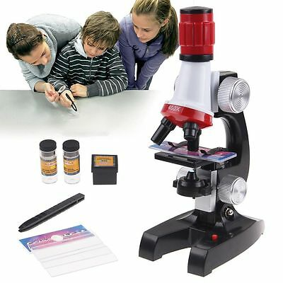 1200X Microscope Kit Science Lab Kids Chemistry Biology Educational instrument