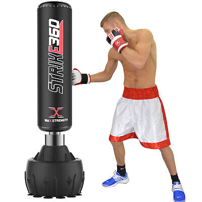 Super Heavy 6ft Free Standing Punch Bag Duty Boxing MMA Kick Stand Gym Training