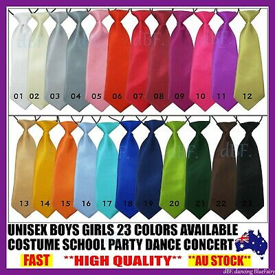 Boy Kid Child Necktie Neck Ties Neck Tie Tied Elastic Wedding Party Dance Tuxedo