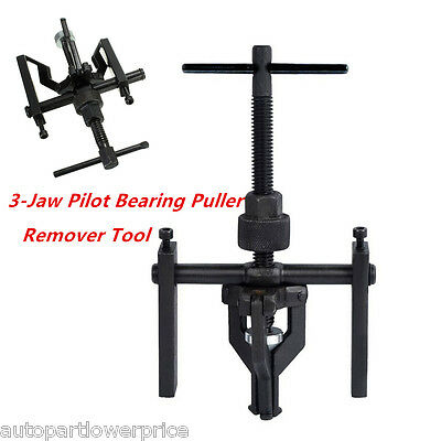 3-Jaw Pilot Bearing Puller Bushing Gear Extractor Car SUV Engine Removing Tool