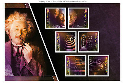 Einstein & Hawking 100 Years of General Relativity Self Adhesive Pane (UK36)
