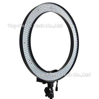 "19"" Outer 40W 240PCS LED Ring Light 5500K Dimmable Photography Ring Video Light"