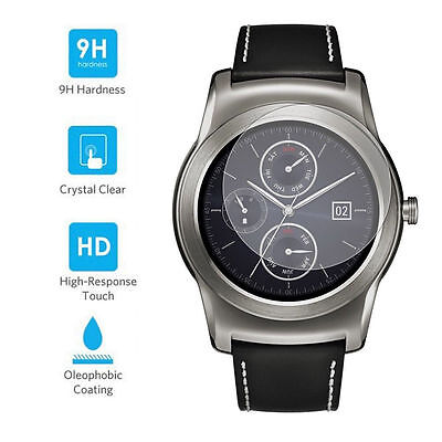 LG G Watch R W110 REAL Tempered Glass Screen Protector Anti-Scratch Film