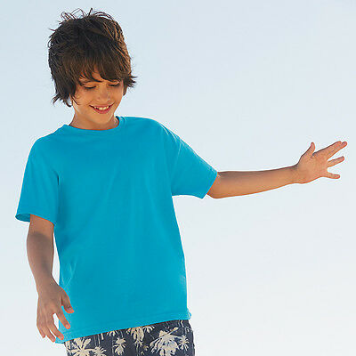 Fruit Of The Loom Kids Children Unisex Short Sleeve T Shirt - 61033
