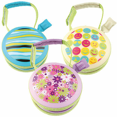 MAM Soother Pod Case in 3 Colours - Pink,Blue or Cream. Holds 2 Soothers