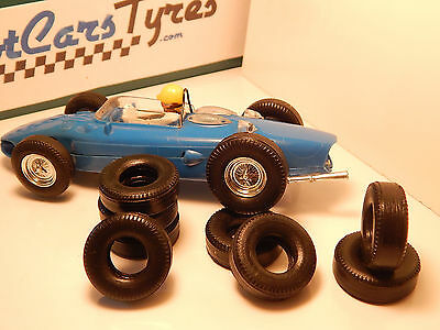 8 urethane rear tires for race tuned SCALEXTRIC - Uk