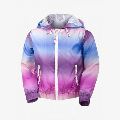 Pink Blue Tie Dye Zip Up Hooded Jacket Coat Age 8 9 10 11 12 13 14 15 16 Years