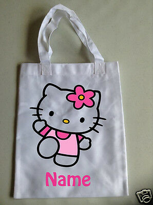 Personalised Children's Tote Bag - 35 x 30cm - Hello Kitty