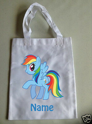 Personalised Children's Tote Bag - 35 x 30cm - My Little Pony Style 1