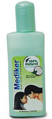 Mediker Anti Lice Shampoo with Coconut Oil Neem 50ml. FRee Shipping.  RBBS