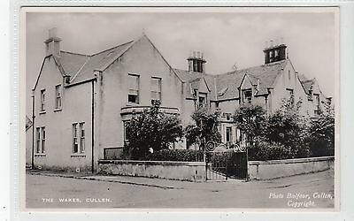 THE WAKES, CULLEN: Banffshire postcard (C19139)