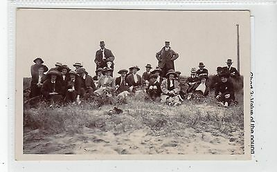 Untitled postcard of a group of ramblers? by G W Gibson of Coldstream (C19148)