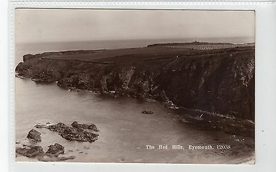 THE RED HILLS, EYEMOUTH: Berwickshire postcard (C19150)