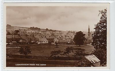 LESMAHAGOW FROM THE WOOD: Lanarkshire postcard (C18739)