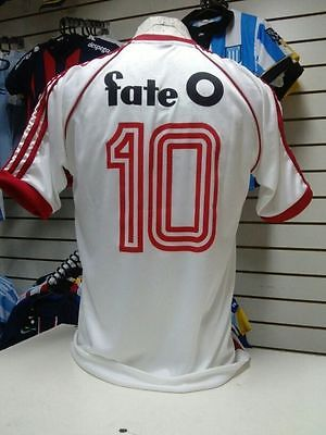 Maillot Foot River Plate 1986 Argentine Vintage Retro 86 Alonso 10