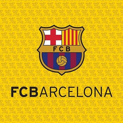Barcelona FC Filled Yellow Cushion Pillow By BestTrend®