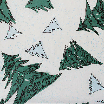 Printed Tissue Paper - Blue Spruce Pattern - 240 Sheets
