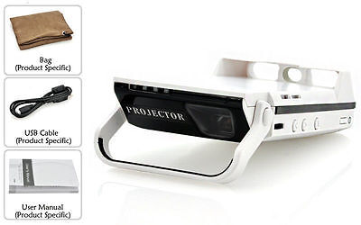 "DLP Video Projector for iPhone 5/5S ""iBeam"" - 60 Inch Projection, 50 Lumens, 300"
