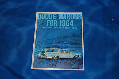 1964 Dodge Station Wagon Sales Brochure