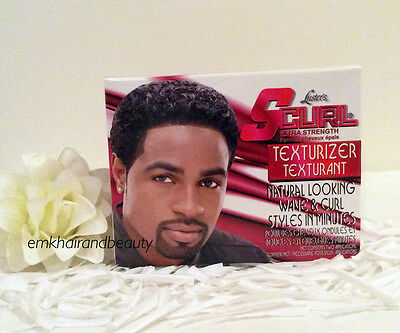 Luster's S-Curl Texturizer Kit Extra Strength Two Applications