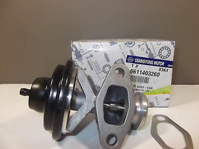 Genuine Mercedes Benz Mb100/140 Van Diesel All Model Egr Valve Assy & Gasket Set