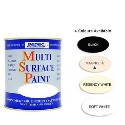 Bedec Multi Surface Paint Matt 750ml Various Colours Available