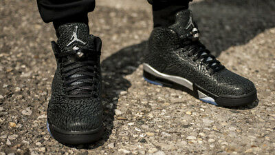 DS Nike Air Jordan Retro 3LAB5 Metallic Silver - Size 9 US - 3 Lab 5 5lab3