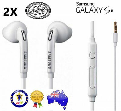 2 X Genuine Samsung Earphones for galaxy S6 S7 Edge, Note 3. all Android devices