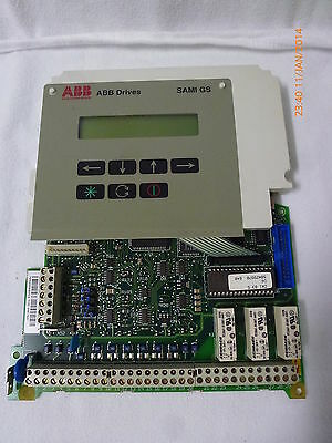 ABB Drives SAMI GS Operator Panel with SNAT7640 Controller Card New