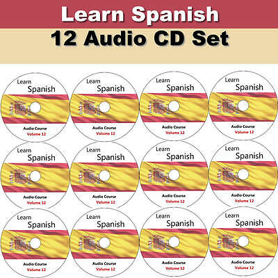 Learn Spanish In A Week - Complete Language Training Course on 12 AUDIO CD Speak